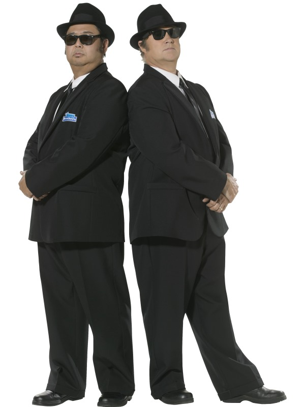 Blues Brothers Licensed Fancy Dress