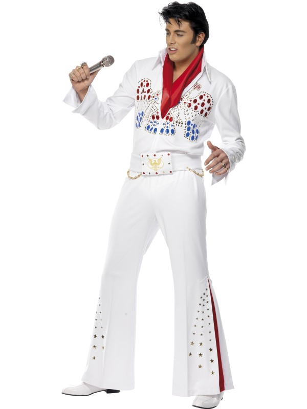 Elvis Presley Licensed Fancy Dress