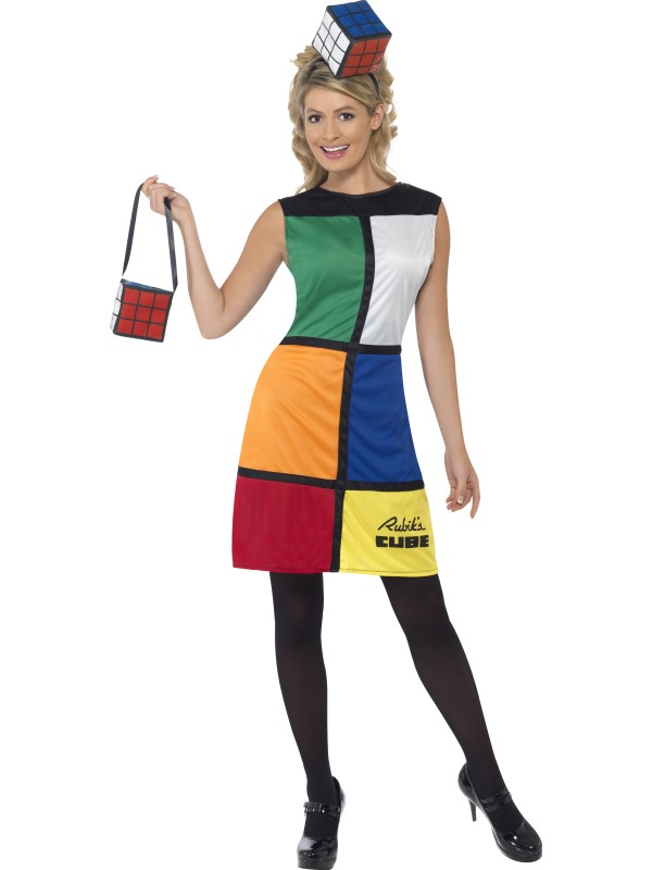 Rubiks Cube Licensed Fancy Dress