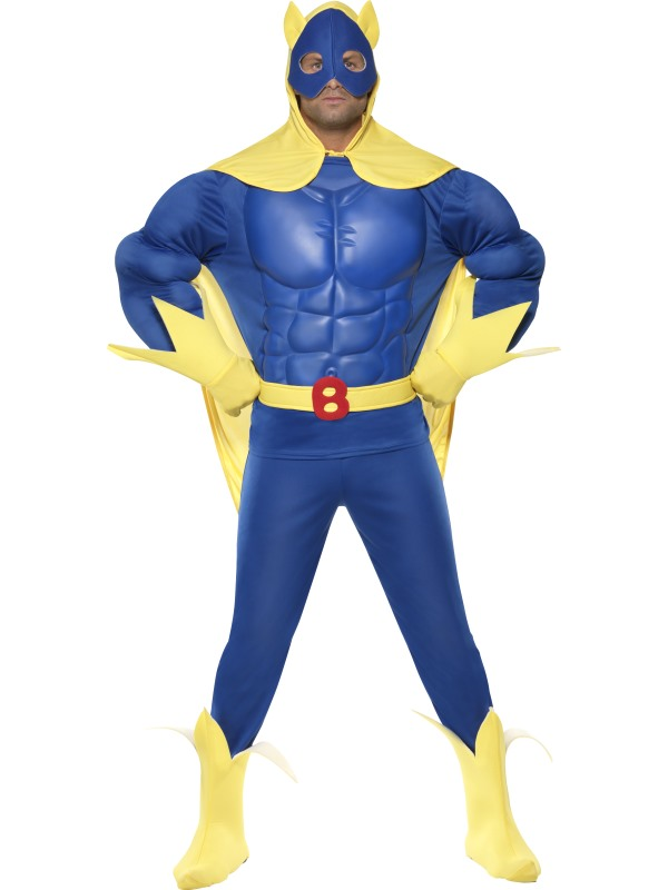 Bananaman Licensed Fancy Dress
