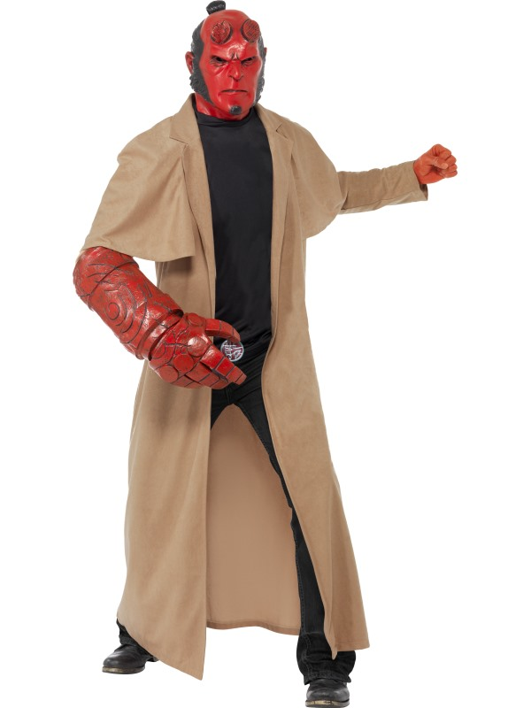 Hellboy Licensed Fancy Dress