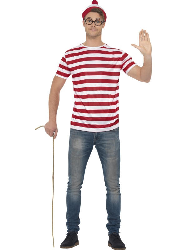 Wheres Wally Licensed Fancy Dress