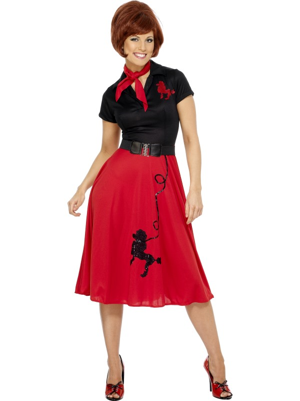 50s Style Poodle Costume