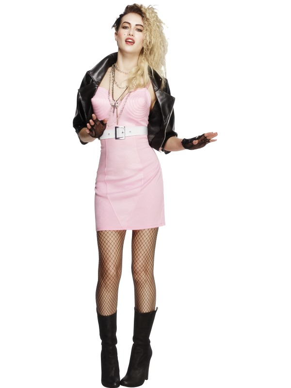 Fever 80s Rocker Diva Costume